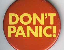 Don't Panic, Use a Towel Day Infographic